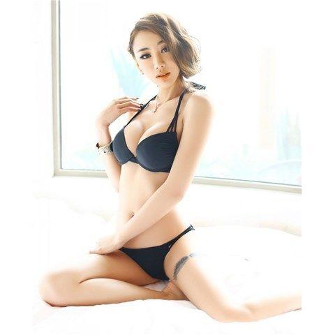 Strappy Sexy Bikini - Black