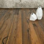 Pallet Floor - Viridian Wood Products. Pallet flooring? Free floring? Say whaaaat? I like it.