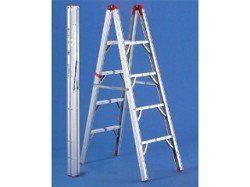 Gp Logistics Sld D4 4 Ft Double Sided Ladder By Gp Logistics Ladder Folding Ladder Lumber Rack