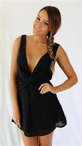 Summer Time Dress in Black - Shugah Boutique