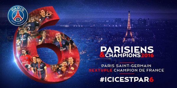 PSG Officiel (@PSG_inside) | Paris Saint Germain:Sextuple champion de France