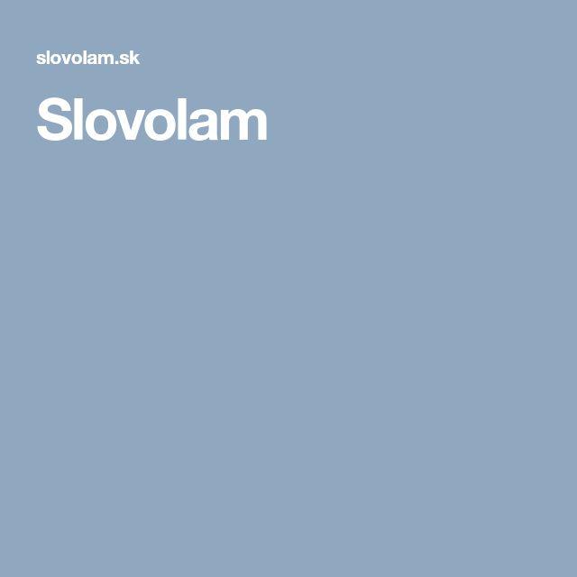 Slovolam