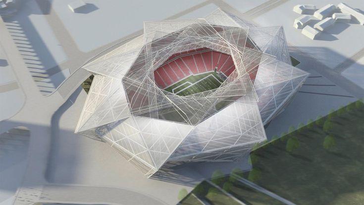 Estádio de futebol americano nos EUA terá formato de estrela