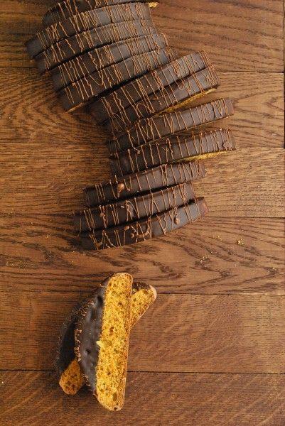 Медовые бискотти с апельсином и лавандой