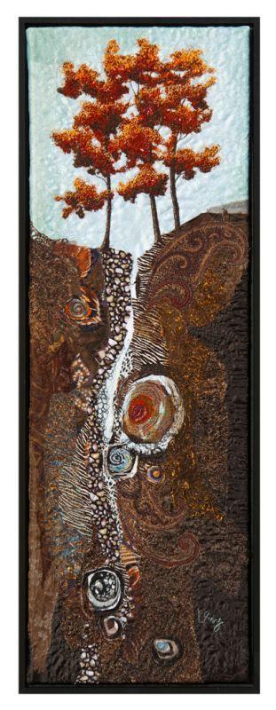 Maple Ridge by Lorraine RoyFibre Art, Maple Ridge, Art Quilt, Art Photography, Art Inspiration, Photography Art, Lorraine Roy, Fiber Art, Fiber Quilt