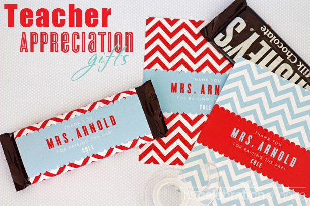 Free Teacher Appreciation Printables via blog.thecelebrationshoppe.com ~ THANK YOU for RAISING THE BAR! ;)
