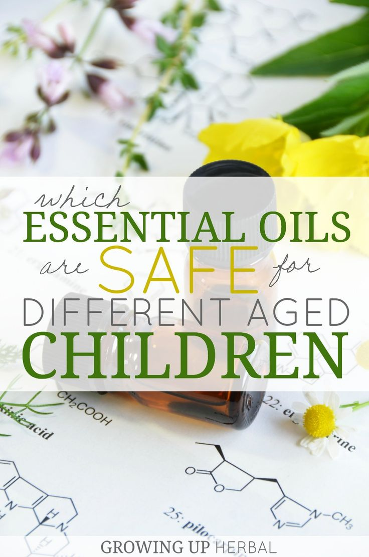 Which Essential Oils Are Safe For Different Aged Children | Growing Up Herbal | Essential oil safety is a hot topic these days. Here are my sources for safety.