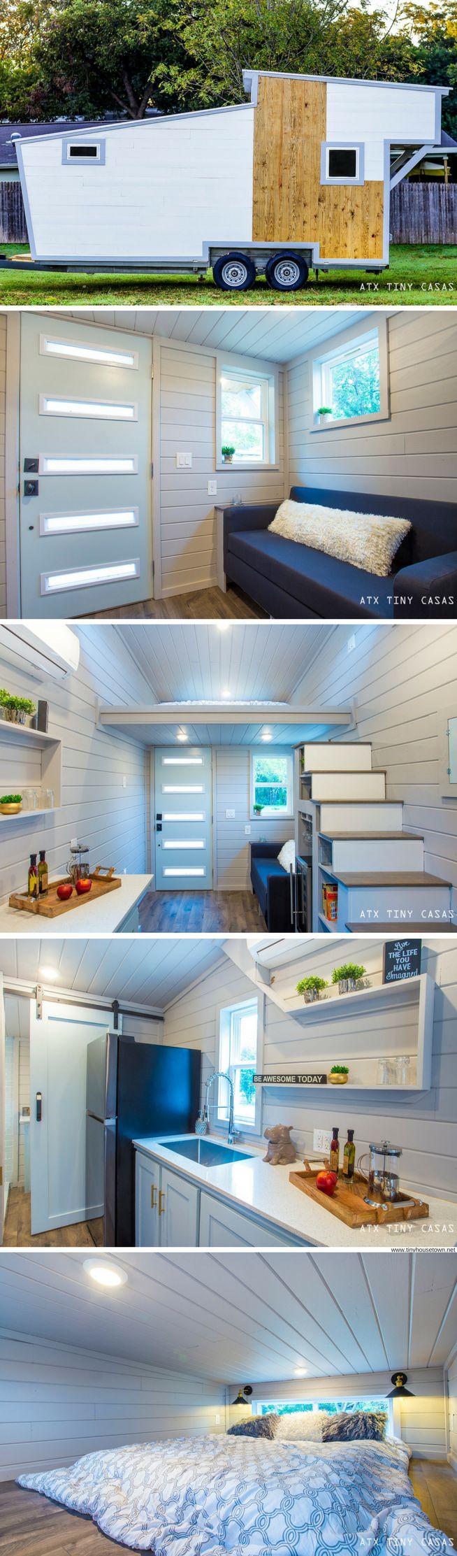 The Lady Bird: a beautiful 224 sq ft tiny house from ATX Tiny Casas