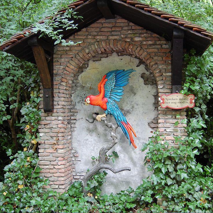 Sprookjesbos - Het stoute prinsesje (of de sprekende papegaai)- de Efteling