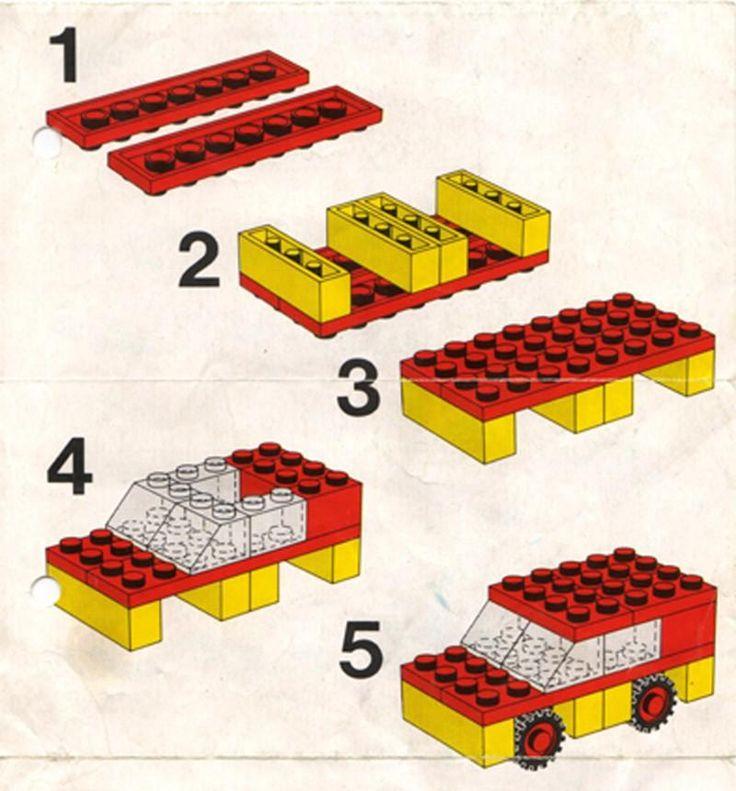 211 best LEGO PRINTABLE INSTRUCTIONS images on Pinterest | Lego ...