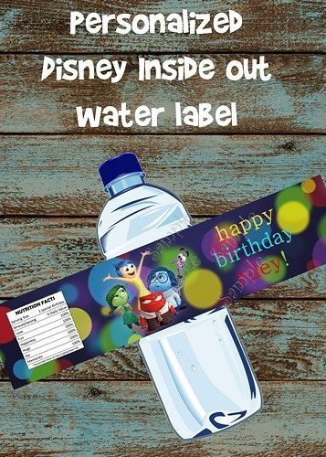 Best Inside Out Birthday Party Images On Pinterest - Birthday invitations inside out
