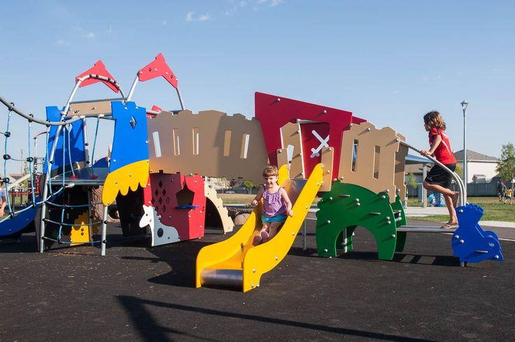 Brintnell Playground in Edmonton