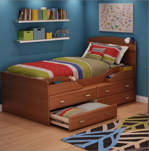 Captains Bed Twin Xl Woodworking Projects Amp Plans