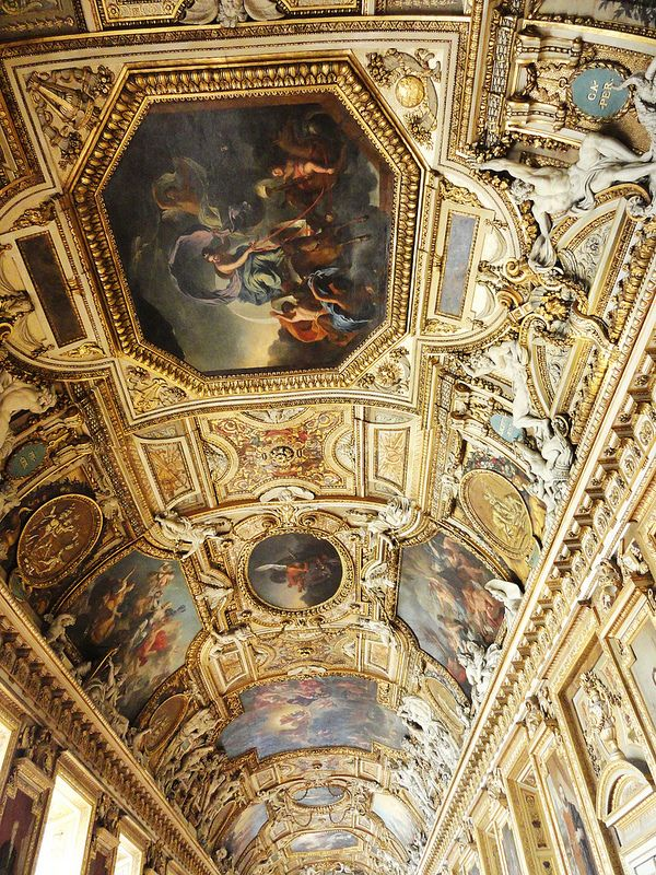 The Apollo Gallery at the Louvre, Paris