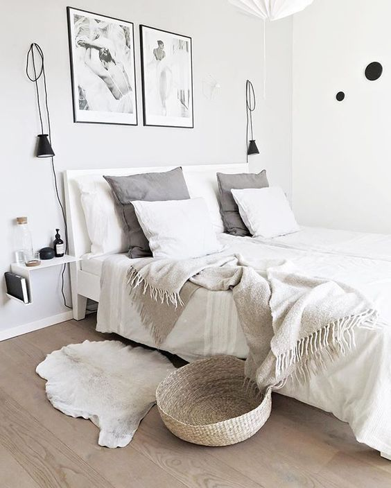 so serene | home inspiration, house, living space, room, scandinavian, nordic, inviting, style, comfy, minimalist, minimalism, minimal, simplistic, simple, modern, contemporary, classic, classy, chic, girly, fun, clean aesthetic, bright, white, pursue pretty, style, neutral color palette, inspiration, inspirational, diy ideas, fresh, stylish, 2017, sophisticated, slaapkamer trend 2017