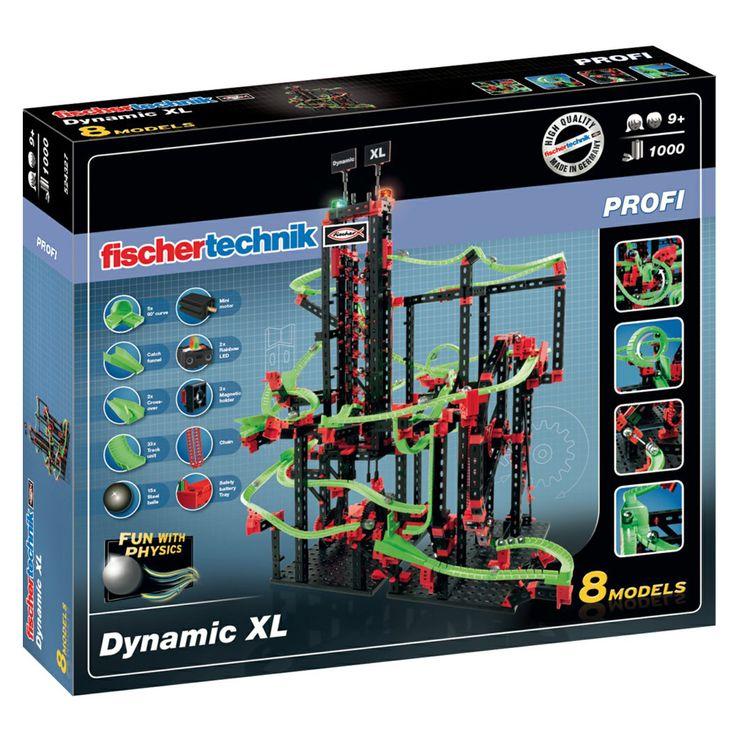 Конструктор FischerTechnik, Dynamic XL, Profi 9+ | Хоби Арт