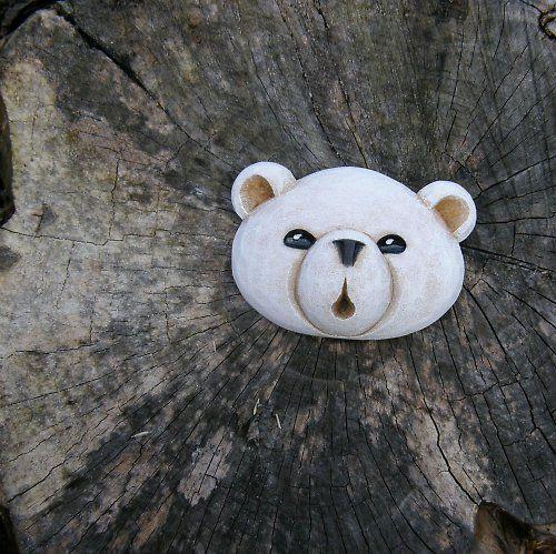 Lední medvídek ... brož .. pro S.