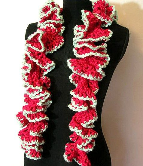 Ruffled Boa Scarf Crochet Pattern PDF- permission to sell what you make