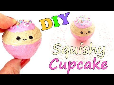 Diy Squishy Cake : Kawaii Cupcake Squishy Tutorial Squishy Toys & DIY Tutorials Pinterest Watches, Make up ...