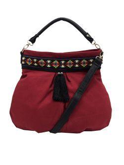 Geanta textila, grena New spring summer collection handbag