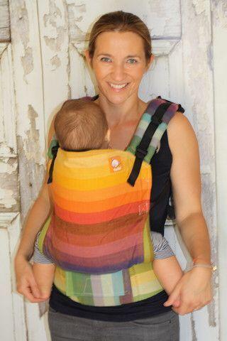 Girasol Deag Gold Weft TULA BABY CARRIER Crochets