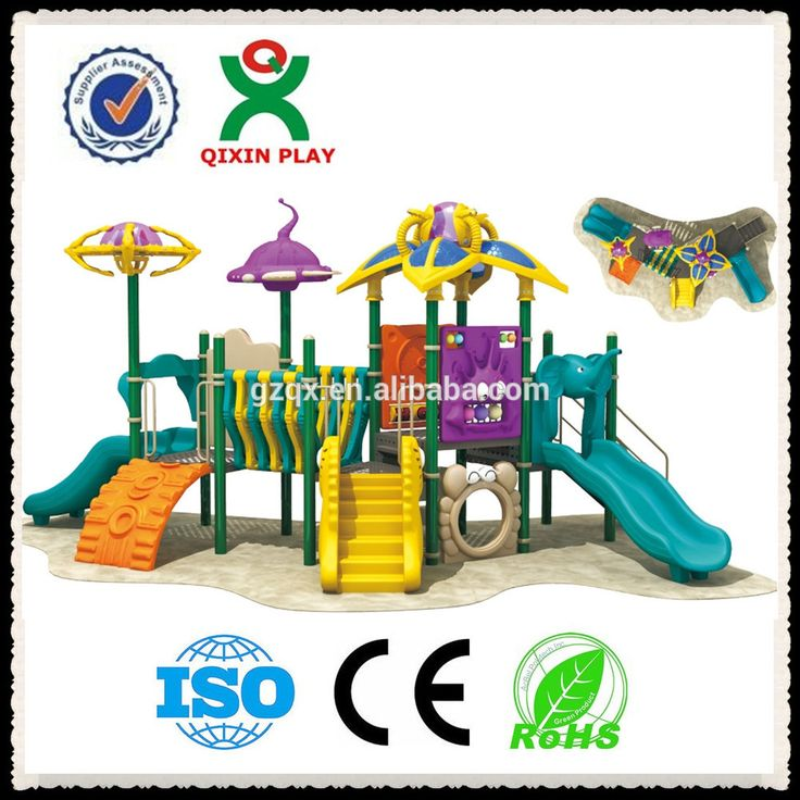Anime themes Outdoor Plastic Playground Equipment Outdoor Children Playground Equipment Manufacturers