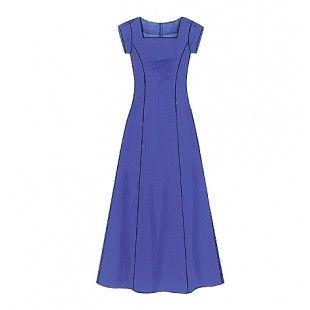 McCall Patroon 3129 - Lange jurk