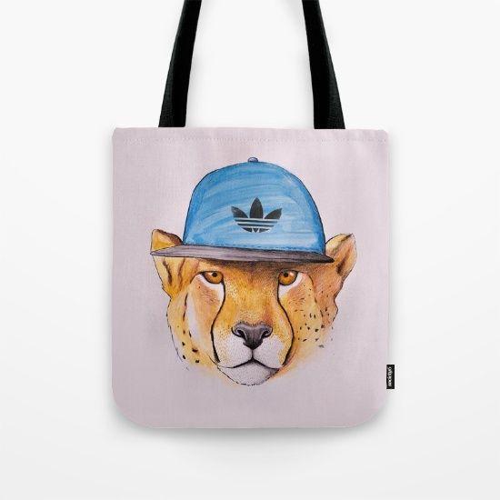 cheetah totebag by Lostanaw #cheetahprint #cheetahlove #cheetahart #illustration #iphonecase #leopard