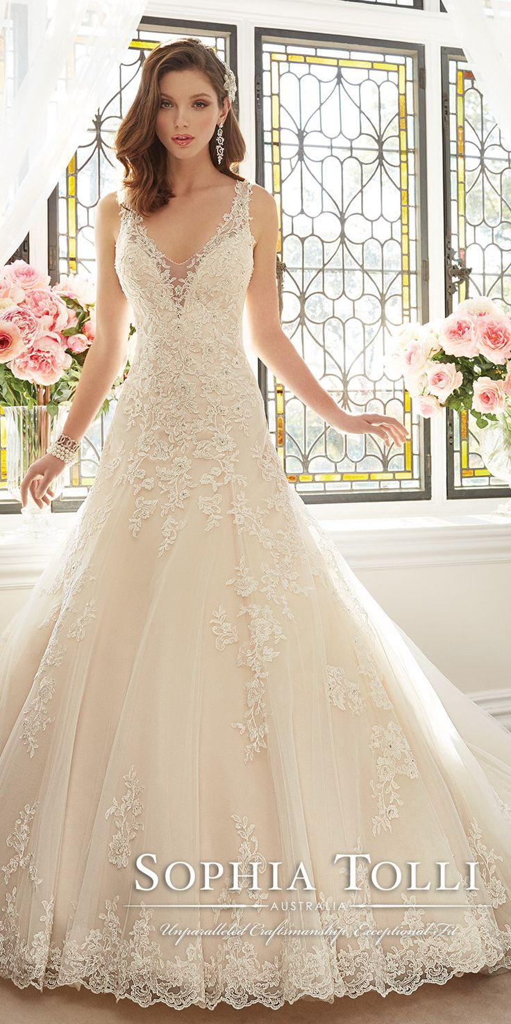 Sophia Tolli Wedding Dresses Collection Spring 2016   TulleandChantilly.com