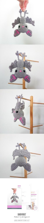 BabyBat Amigurumi Pattern $4.80