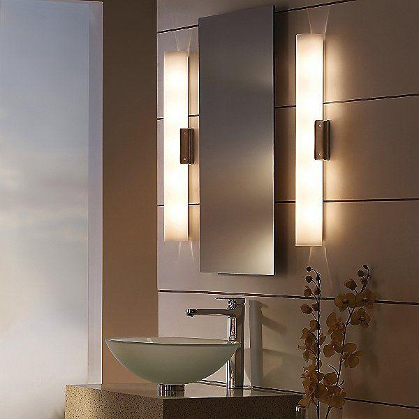 Tech Lighting White Solace Bath Bar At Lumens Com Bathroom Mirror Lights Contemporary Bathroom Lighting Bathroom Light Fixtures