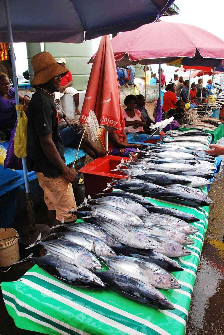 Things To Do In The Solomon Islands! #markets #fish #solomonislands #visitsolomons