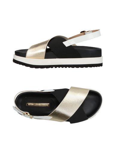 ATOS LOMBARDINI Women's Sandals Gold 10 US