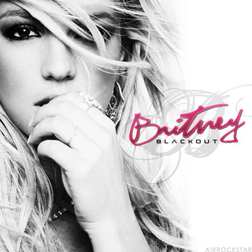 "Britney Spears ""Blackout"" - Fan Made Album art #BritneySpears #Blackout"