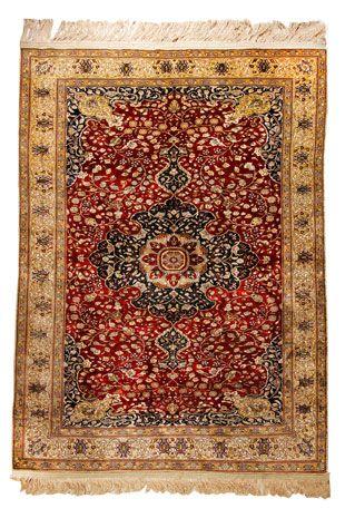 Kaiseri Seide Teppich Türkei 175 x 119 cm