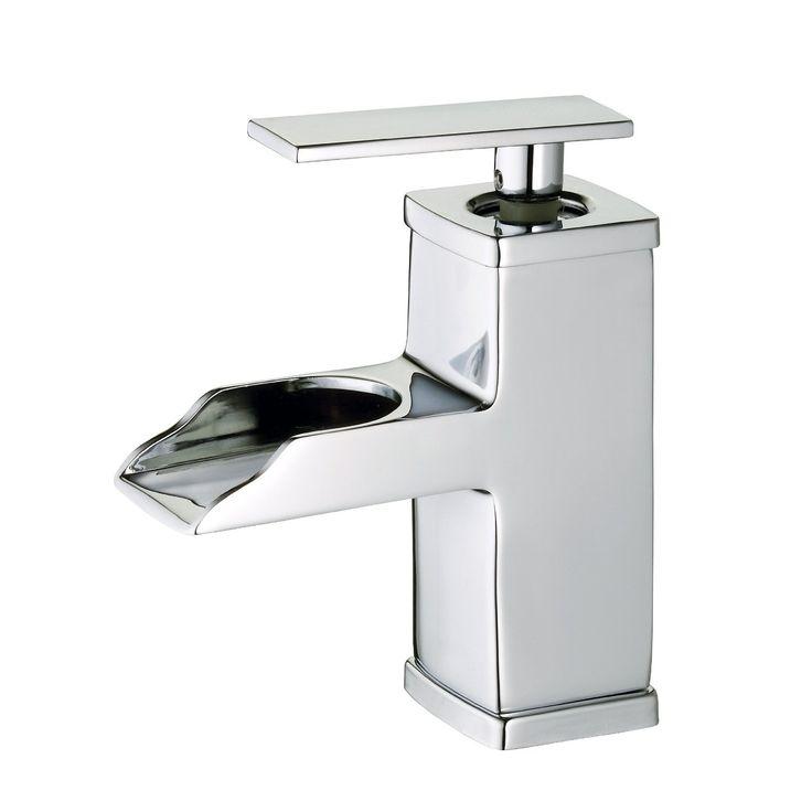 Belle Foret BFL425CP Single Handle Open Spout Lavatory Bathroom Sink Faucet  In Chrome   HDModel: