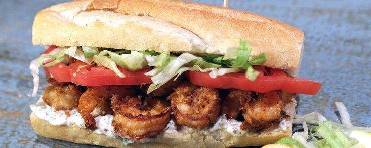 Shrimp Po' Boy Recipe | The Chew - ABC.com