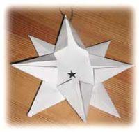 Skapligt Enkelt: Vik en julstjärna