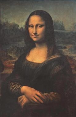 Mona Lisa by Leonardo Da Vinci, 1452-1519
