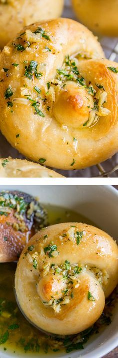 Garlic Knots (Perfect Rolls for Thanksgiving!)