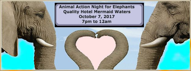 Here it is folks! The link to join myself and more than 10 top-class performers & speakers from Sunshine Coast to Byron Bay for the 11th annual Animal Action Night for Elephants on October 7 at Quality Hotel Mermaid Waters on the Gold Coast. We are raising money for World Animal Protection to help a sanctuary in Thailand that rescues elephants that have suffered abuse in the entertainment industry. Full details here: https://tinyurl.com/y8l7hyts