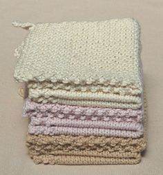 Another knitted washcloth pattern I just have to try...someday