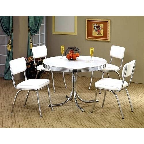 Black And White Retro Dining Table And Chairs Set: 17 Best Images About Kitchen Table Replacement On