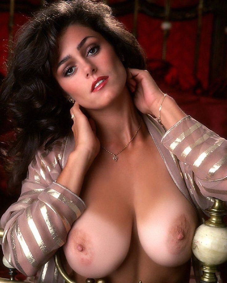 Karen Price - Vintage Era Playmate Nude - Busty Tan Lines -7469