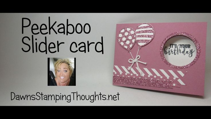 This video is about Peekaboo Slider card using Stampin'Up! products Today we will be making this really awesome interactive card . Years ago I had made a dou...