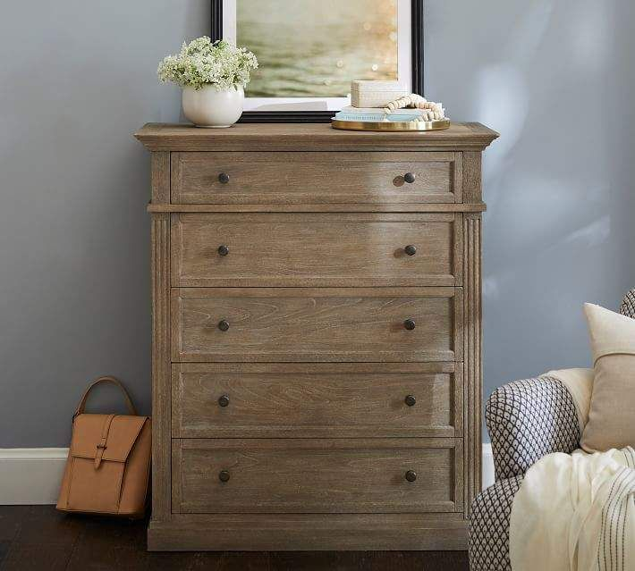 Livingston 5 Drawer Tall Dresser With Images Tall