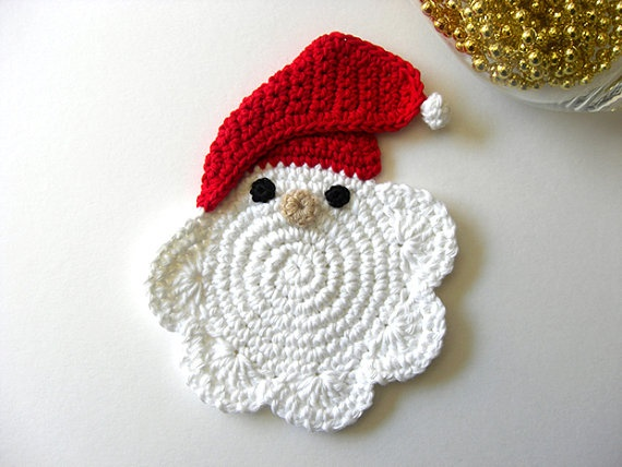 Mari Martin's crochet coasters