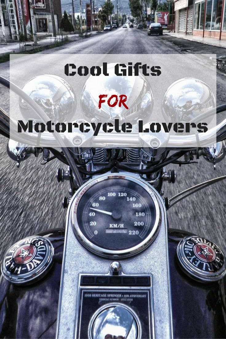 10 Cool Gifts For Motorcycle Lovers 2016 - http://www.absolutechristmas.com/christmas-gift-ideas/gifts-for-motorcycle-lovers/