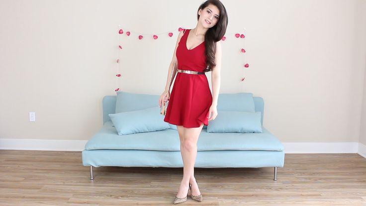 Fashion-Riot: LITTLE RED DRESS... OUTFITS PARA UNA CITA ROMÁNTIC...