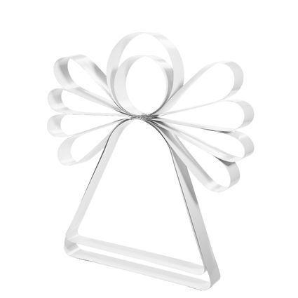 ♥♥♥♥♥ Beautiful christmas angel made of recycled Venetian blind (AnnaNygårdDesign)